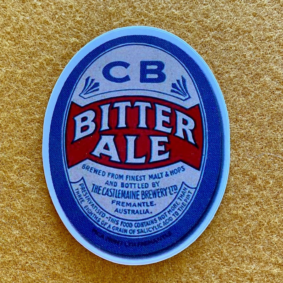 "Castlemaine Brewery ""Bitter Ale"" Sticker"