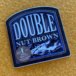 "Mammoth Brewing Co ""Double Nut Brown"" Sticker"