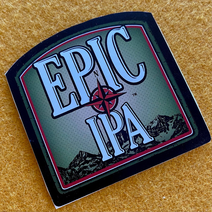 "Mammoth Brewing Co ""Epic IPA"" Sticker"