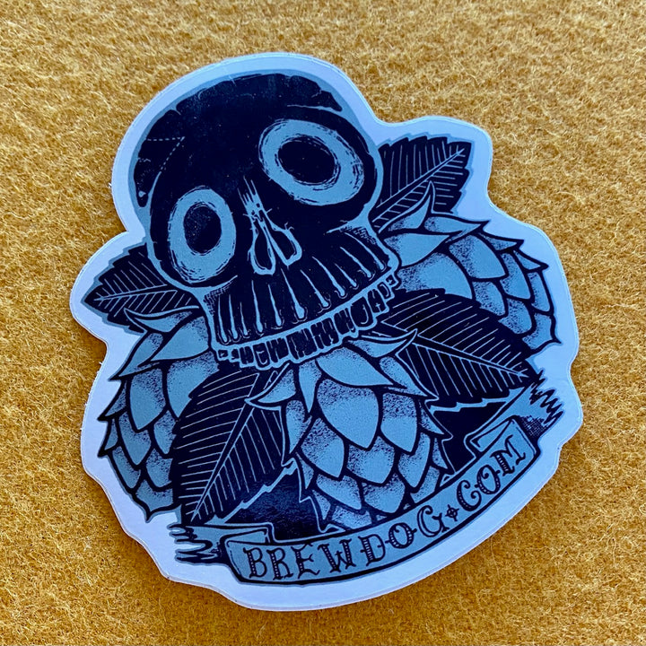 BrewDog Skull Hops Sticker