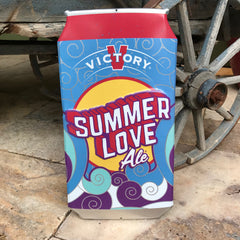 Victory Brewing Co Summer Love Ale Tin Tacker Metal Beer Sign