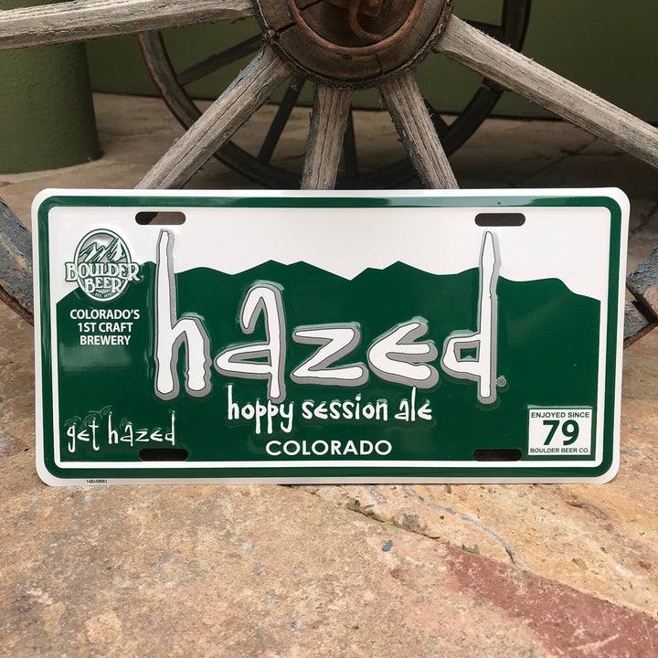 Boulder Beer Co Hazed Hoppy Session Ale License Tin Tacker Metal Beer Sign