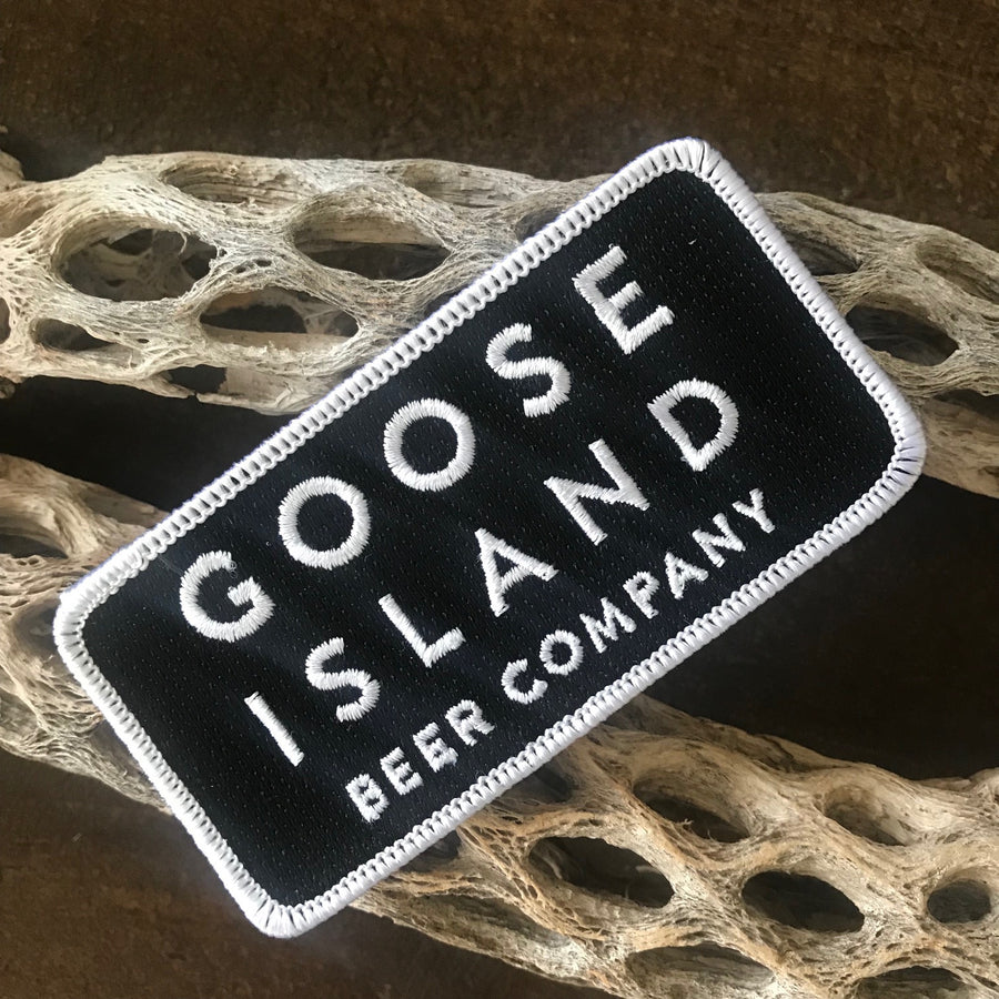 Goose Island Beer Company Text Block Embroidered Patch