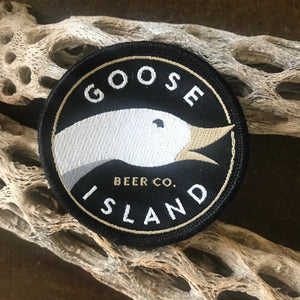 Goose Island Beer Company Logo Embroidered Patch