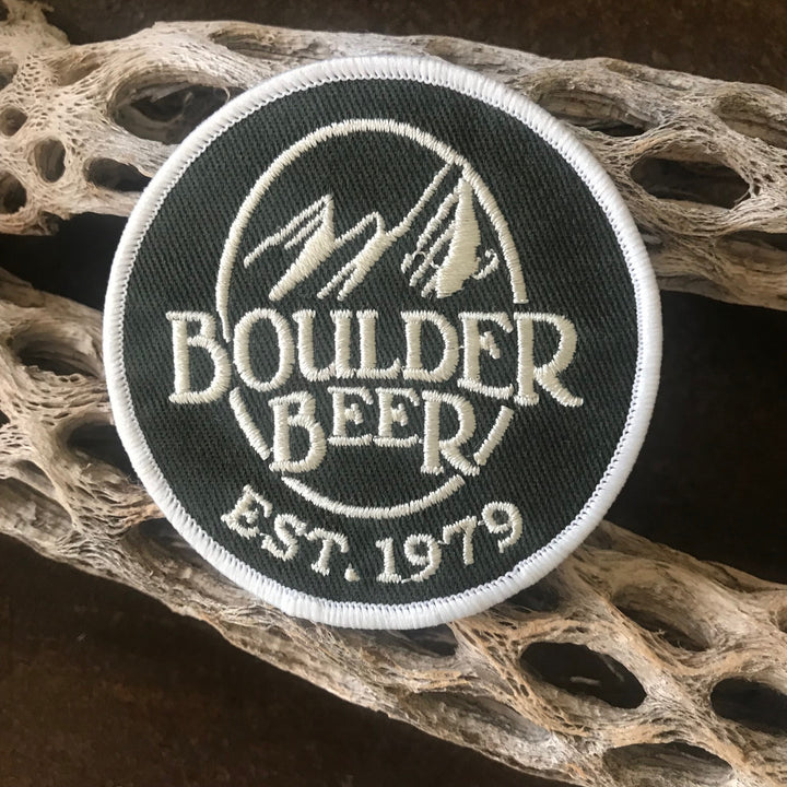 Boulder Beer Logo Embroidered Patch
