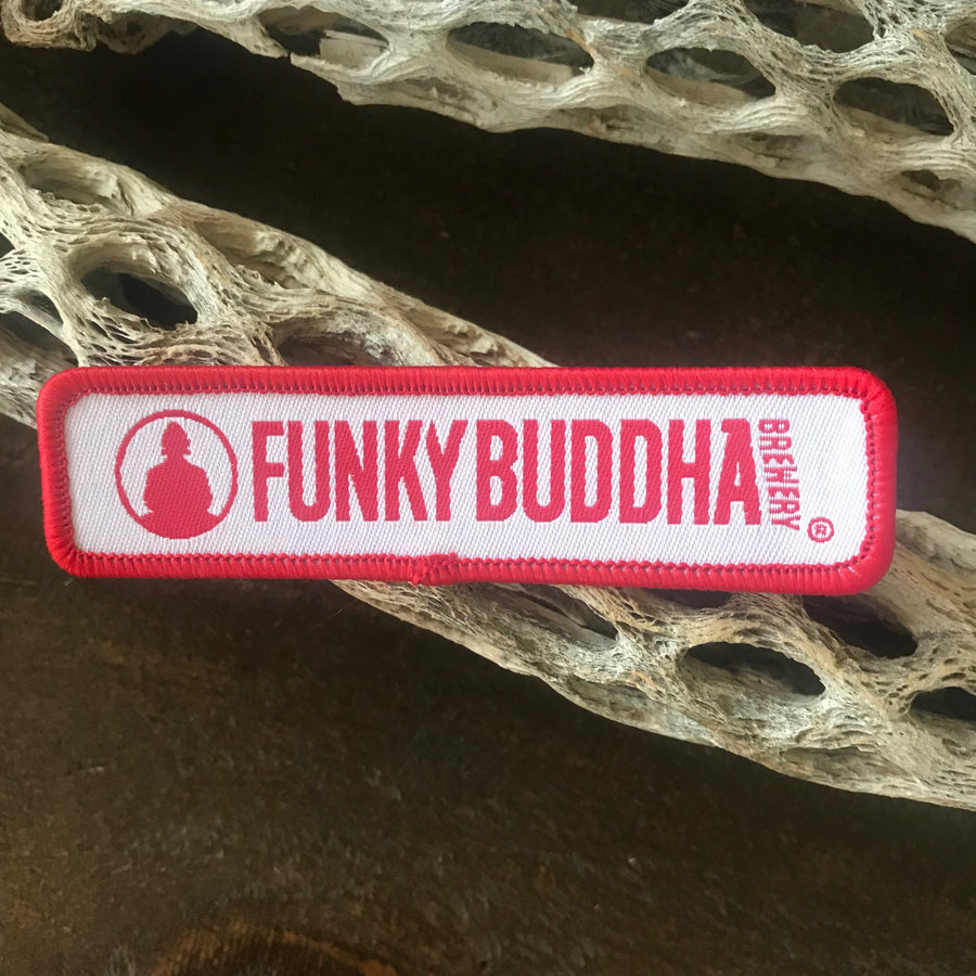 Funky Buddha Brewery Logo Embroidered Patch