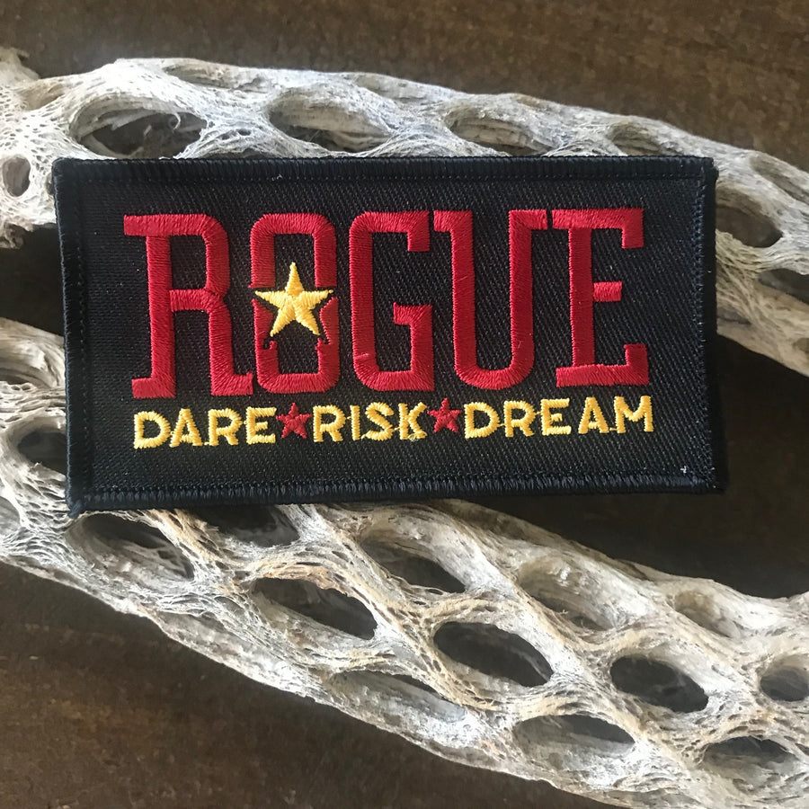 Rogue Ales Dare * Risk * Dream Embroidered Patch