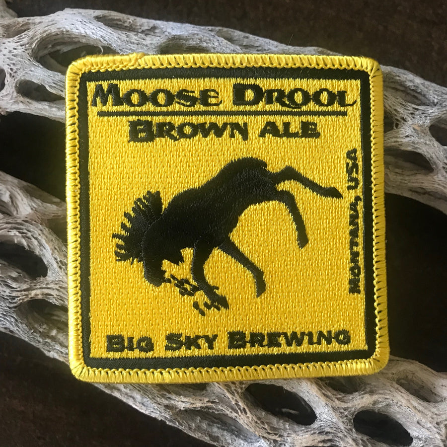 Big Sky Brewing Co Moose Drool Embroidered Patch