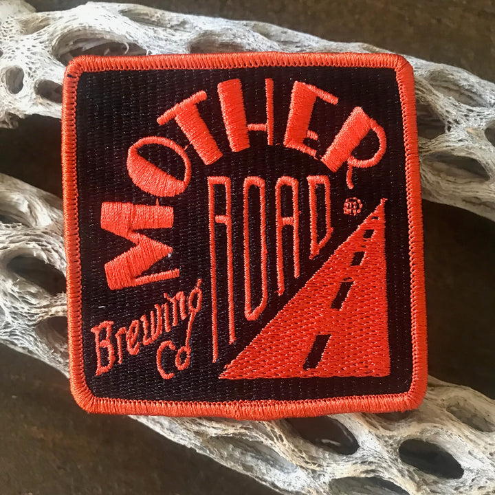Mother Road Brewing Co Logo Embroidered Patch
