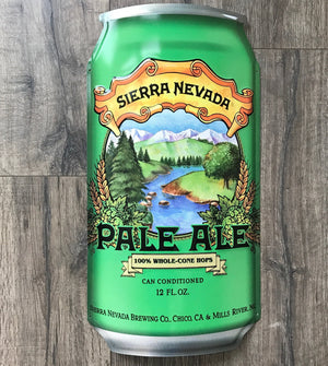 Sierra Nevada Pale Ale 3D Can Tin Tacker Metal Beer Sign
