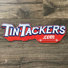 TinTackers.com Tin Tacker Screen Printed Metal Beer Sign