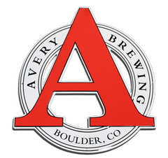 Avery Brewing Co Logo Tin Tacker Metal Beer Sign