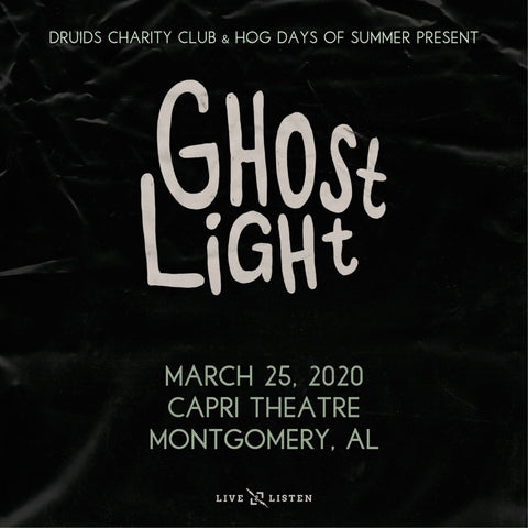 Tickets: Ghost Light - Capri Theatre - 03.25.20