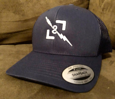 L&L Winter OG Navy Snapback Trucker Hat