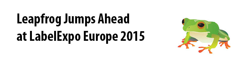 Leapfrog LabelExpo Europe 2015