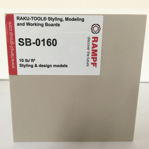 Raku Tool 10lb Tooling Board by Rampf - SB-0160 Light Gray