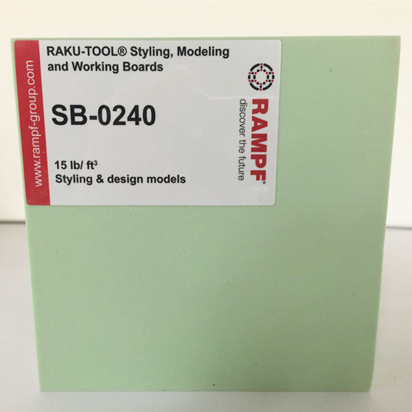 Raku Tool 15lb Tooling Board by Rampf - SB-0240 Green