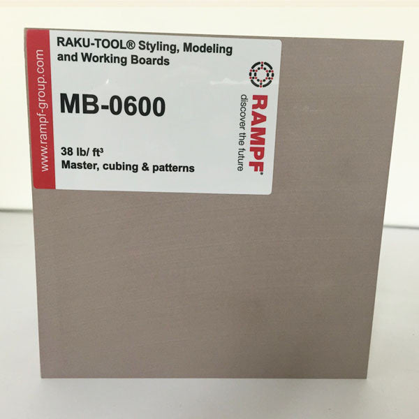 Raku Tool 38lb Tooling Board by Rampf - MB-0600 Brown