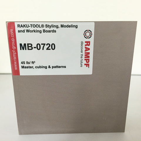 Raku Tool 45lb Model Board by Rampf - MB-0720 Brown