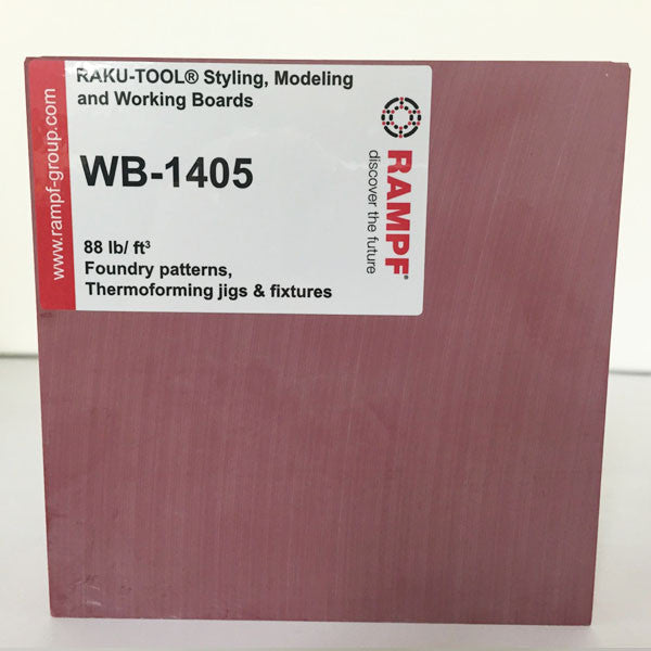 Raku Tool 88lb Foundry Board by Rampf - WB-1405 Red