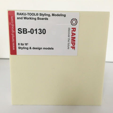Raku Tool 8lb Tooling Board by Rampf - SB-0130 Off White