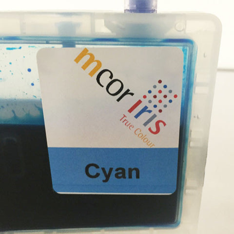 MCOR Iris Cyan Ink Cartridge Replacement