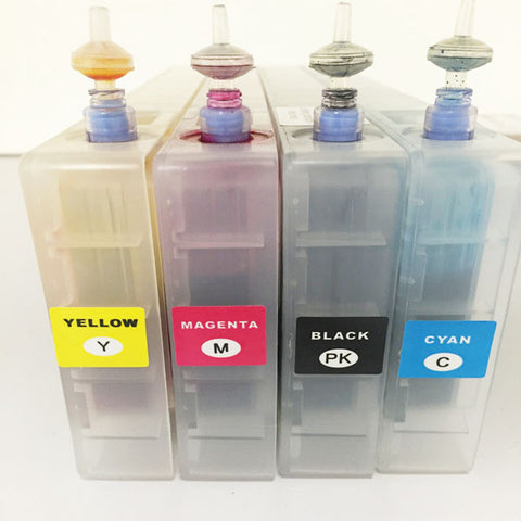 MCOR Iris YMCK 4 Pack Ink Cartridge Replacement - 320ml Each