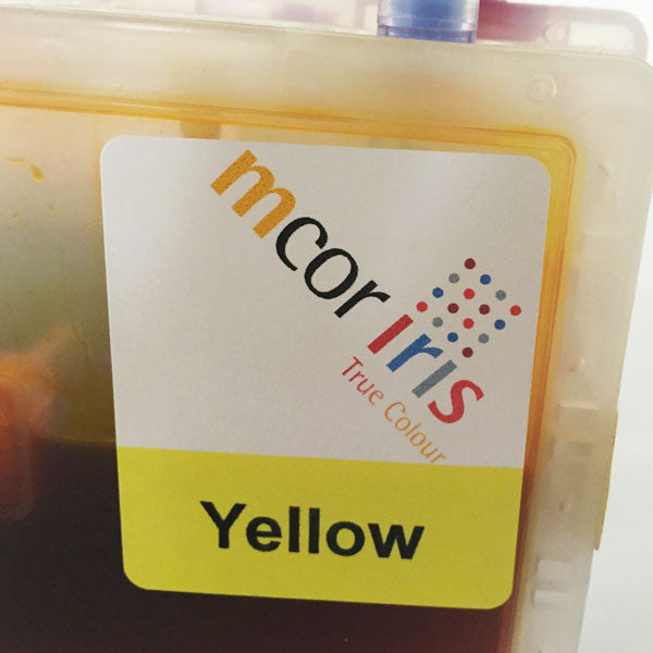 MCOR Iris Yellow Ink Cartridge Replacement