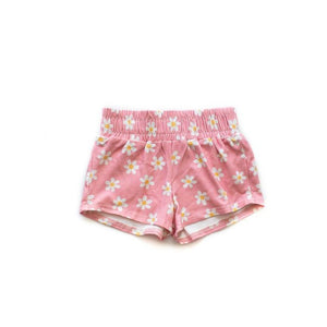 Quartz Pink Daisy Play Shorts