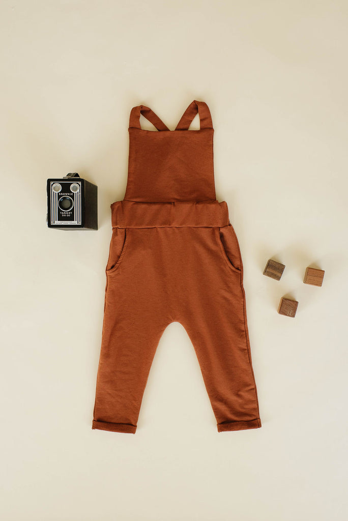 Pocket Overall in Toffee