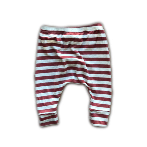 Cinnamon Stripe Knit Lounge Pants