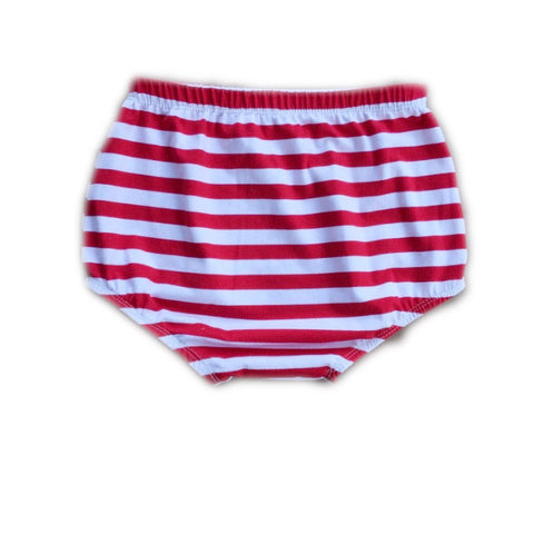 Red and White Stripe Bloomers