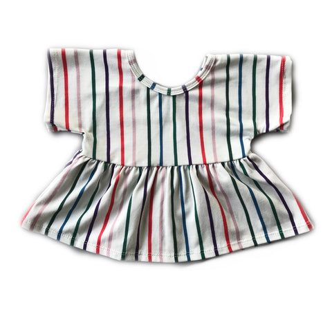 Jewel Stripe Swing Top