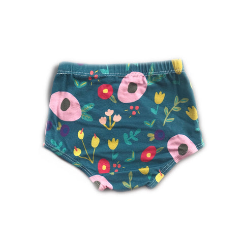 Dark Midsummer Floral Bloomers