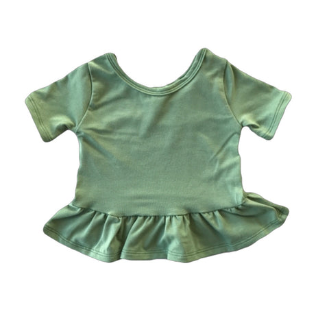 Fern Short Sleeve Peplum Top