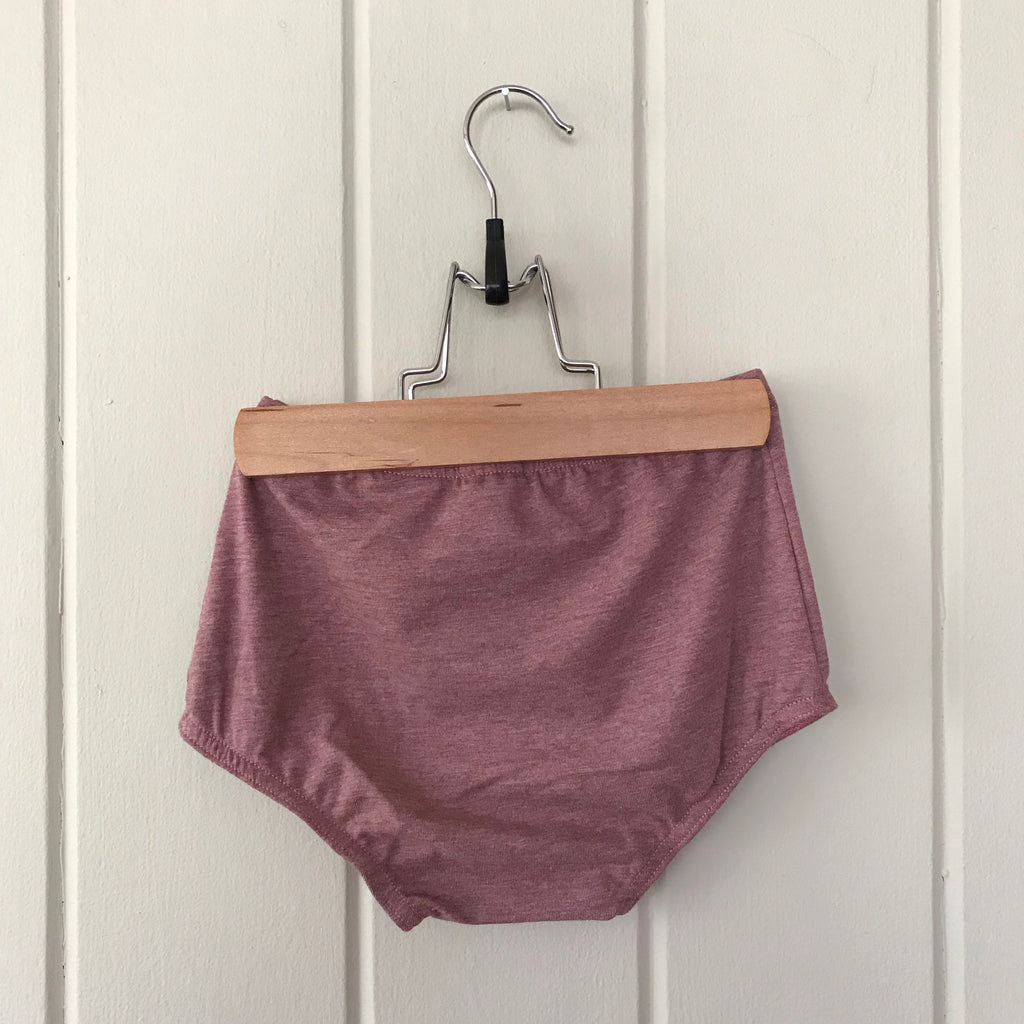 Heathered Rosewood Bloomers