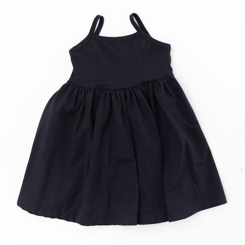 Navy Twirly Dress