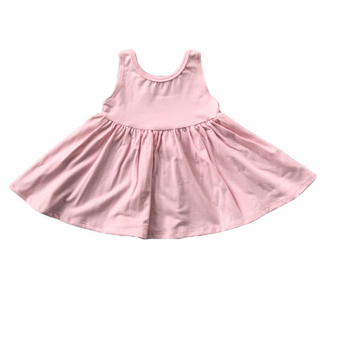 Ballet Pink Tank Twirly Dress