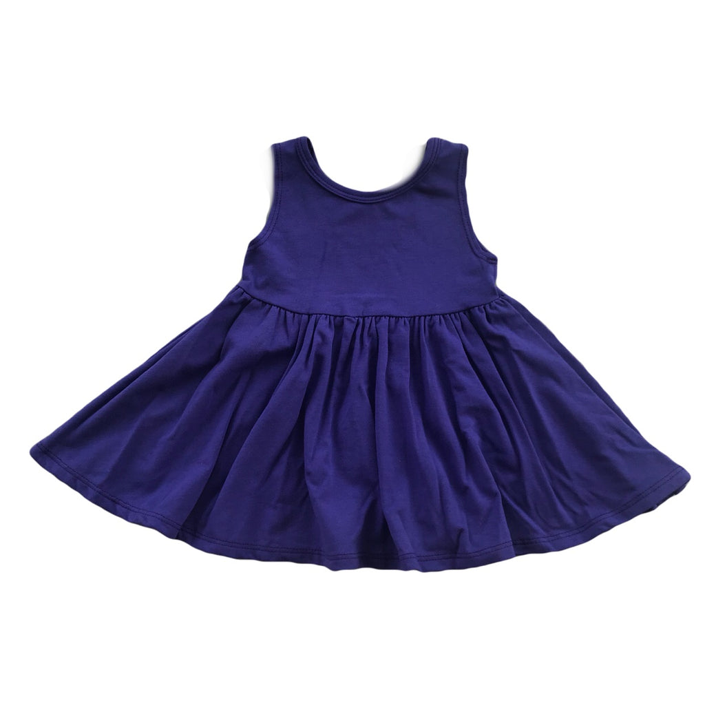 Grape Tank Twirly Dress