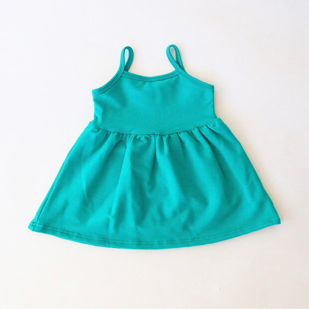 Jade Bamboo French Terry Swing Tank