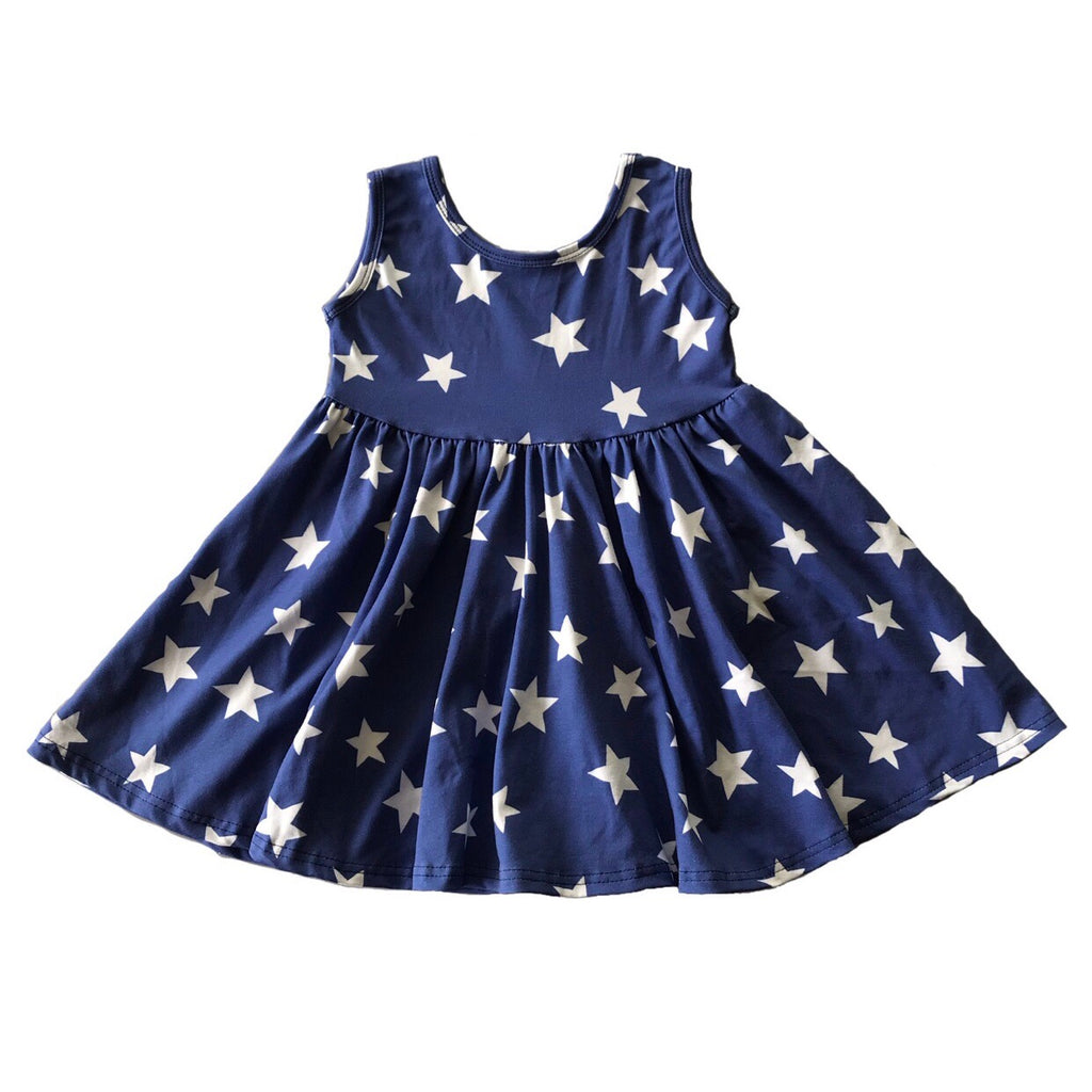 Betsy Star Tank Twirly Dress
