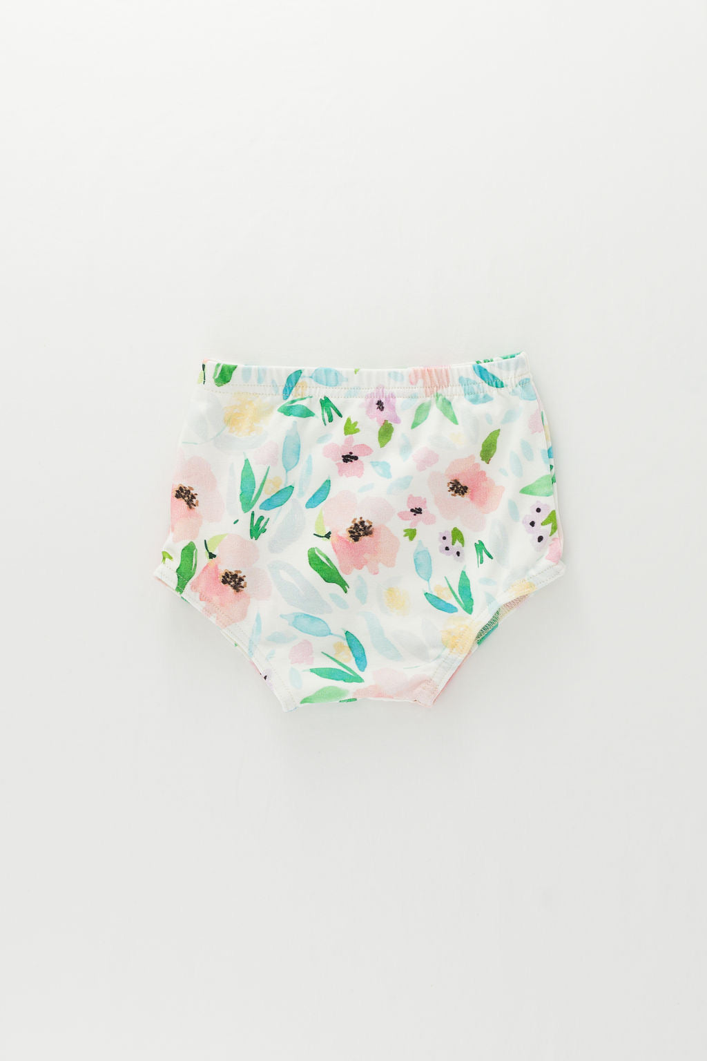 Blush and Sky Blue Floral Bloomers