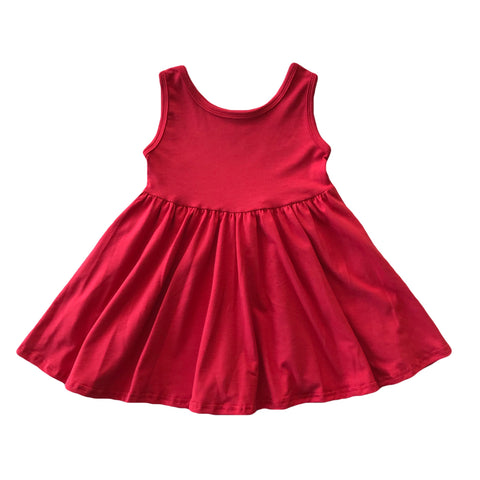 Cherry Tank Twirly Dress