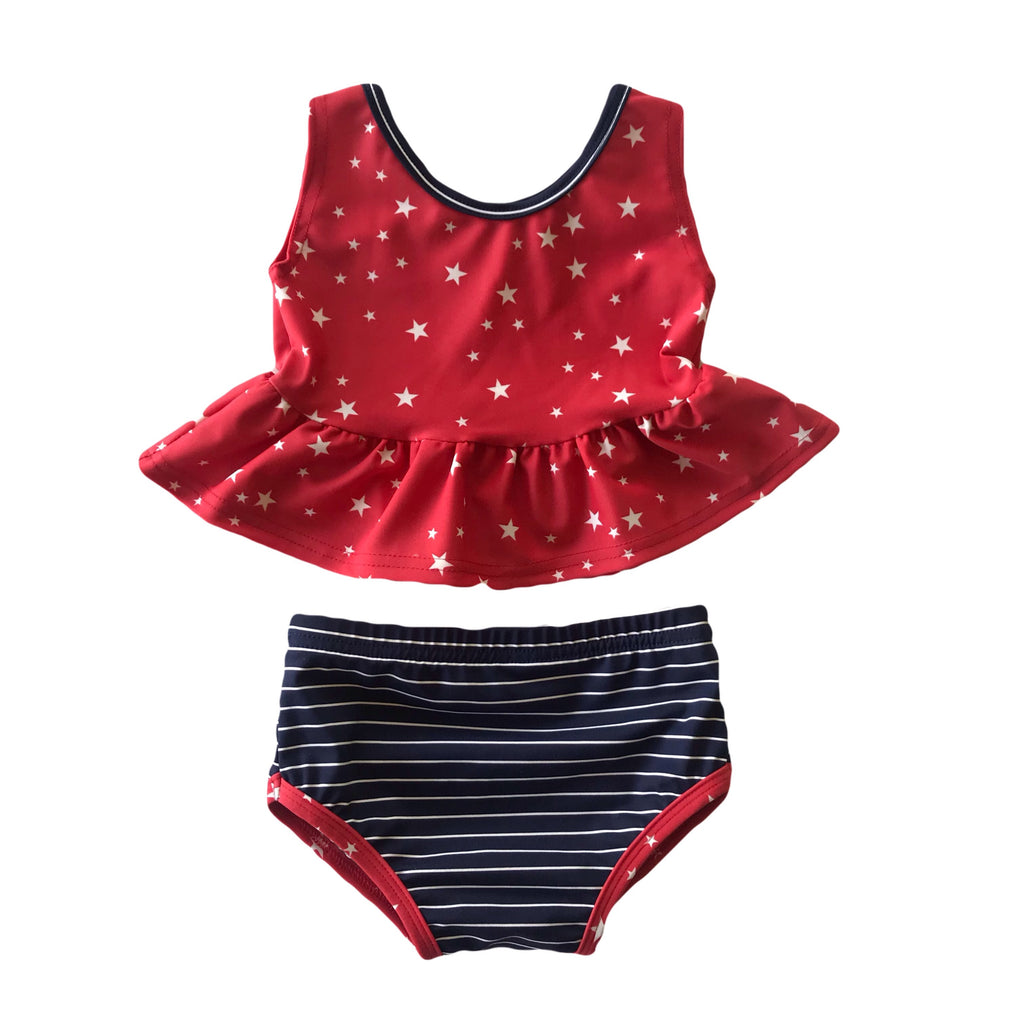 Stars and Stripes Bathing Suit