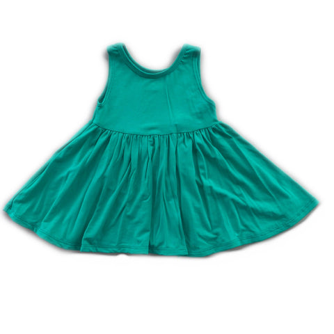 Jade Tank Twirly Dress