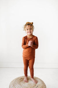 Toffee Bamboo PJ Set