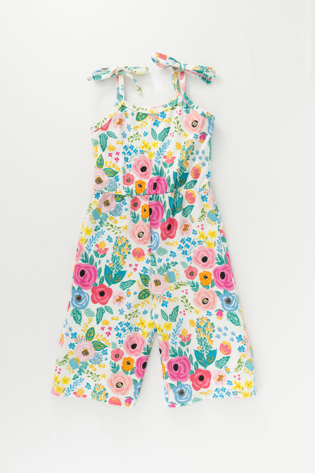 Wonderland Garden Wide Leg Crop Jumpsuit