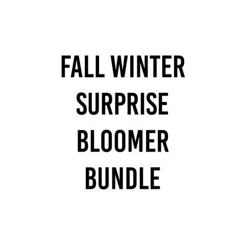 3 Pieces Fall Winter Bloomer Surprise Bundle