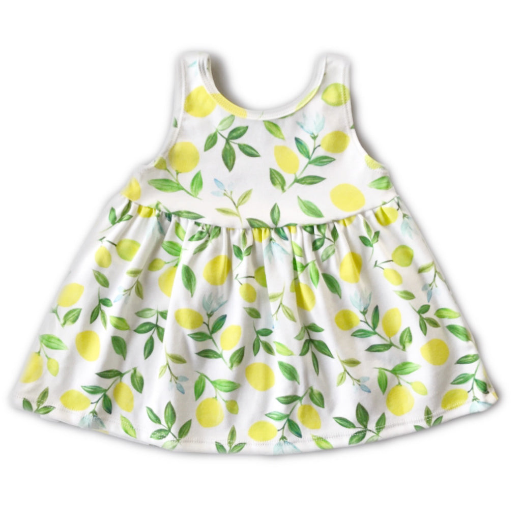 Lemon Tank Swing Dress