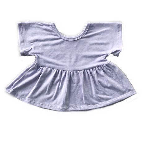 Lavender Swing Top